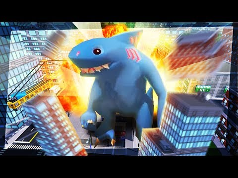 GIANT SHARK NUKES CITY | Omegalodon