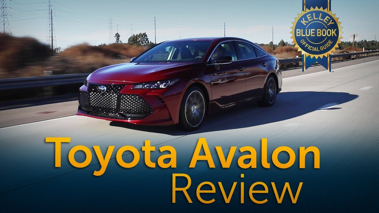 2019 Toyota Avalon Review Road Test