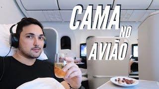 VOAR DEITADO NO AVIÃO é BEM MELHOR! - Business AIR CANADA pro JAPÃO EP2