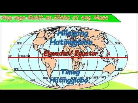 Ang Kinalalagyan at Teritoryo ng Pilipinas- Mapa at Globo