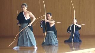 IKYF Kyudo Seminar - Hitotsu mato sharei - Tokyo 2010 (1/2)