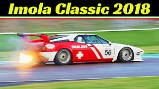 Imola Classic 2018 by Peter Auto - Highlights - Porsche 917K, Ford GT40, Group C cars & More!