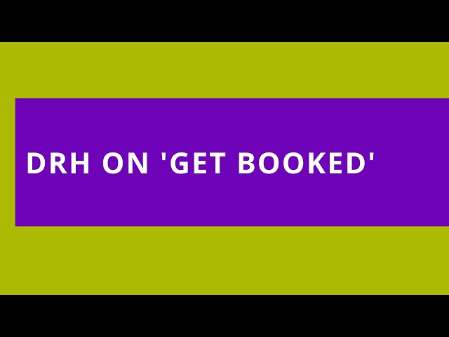 Dennis Relojo-Howell at Get Booked with Hazel Butterflied on Women's Radio Station