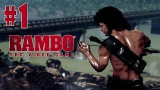 Rambo: The Video Game - Walkthrough - Part 1 - Prologue (PC) [HD]