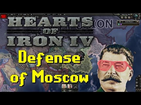 Hearts of Iron IV | Stalin's Russia | Part 5 | Defense of Moscow