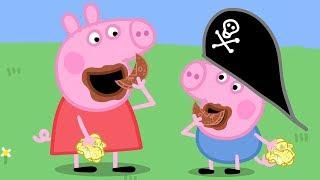 小猪佩奇 | 精选合集 | 1小时 | 小猪佩奇的吃播 | 粉红猪小妹|Peppa Pig | 动画