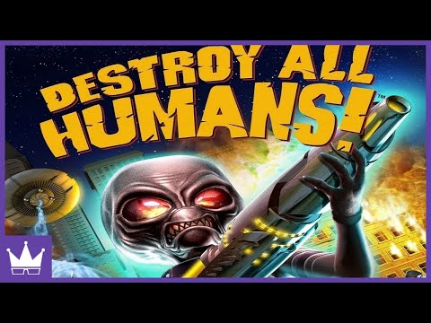 Twitch Livestream | Destroy All Humans Full Playthrough [Xbox]