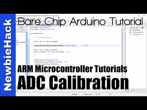 34. How To Calibrate The ADC (Analog To Digital Converter) - STM32 ARM Microcontroller - Part 1