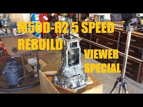 M5OD-R2 5 Speed Transmission Rebuild