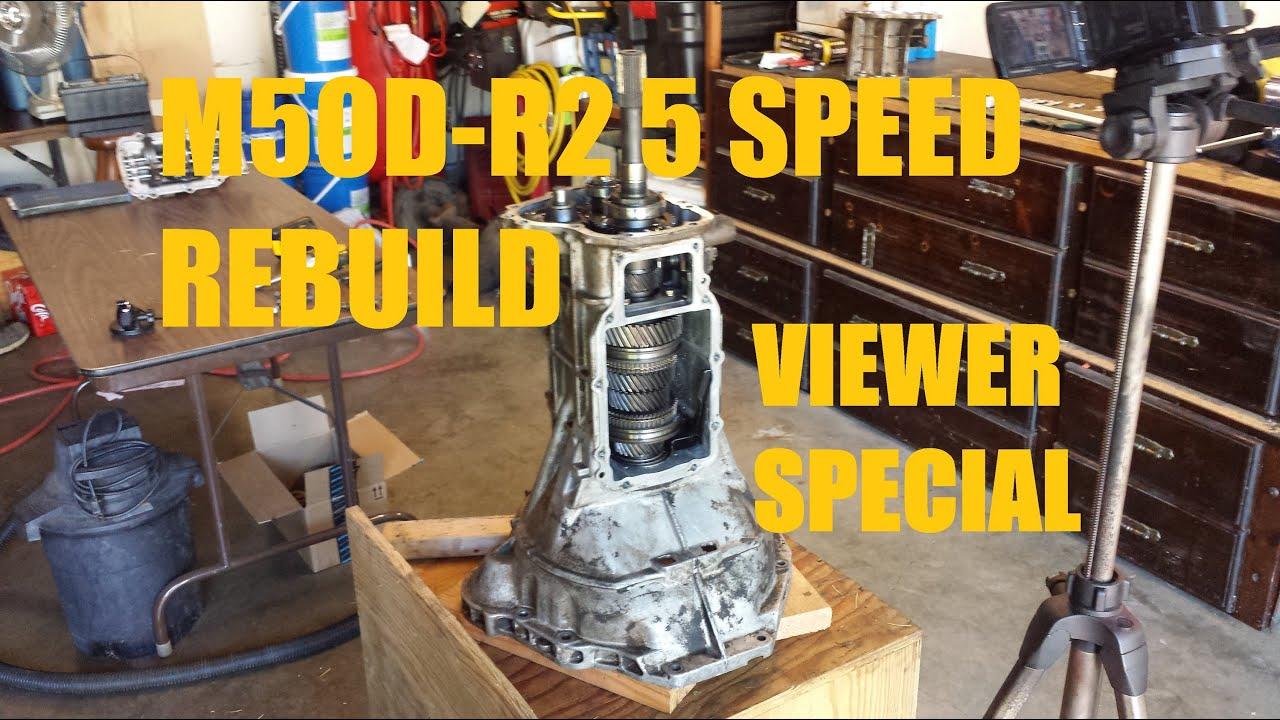 m5od r2 5 speed transmission rebuild [ 1280 x 720 Pixel ]