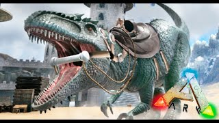 LA MUERTE DE ZEBRA Y SUPER GIGANOTOSAURUS NIVEL 301 WTF?? #02 ARK SURVIVAL EVOLVED MODS Makigames