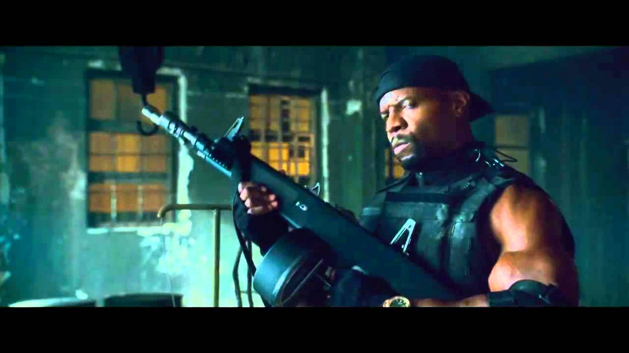 the expendables 2. the big guns - youtube