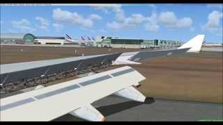 Fsx Air France Cairo to Paris