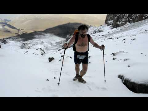Wim Hof Everest >> Iceman Wim Hof on Kilimanjaro - YouTube