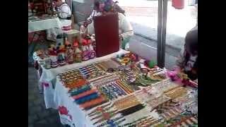 ARTESANIAS DE LOS HUICHOLES EN TEPIC