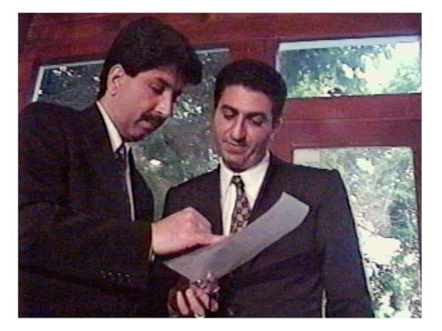 پخش مجدد اولین مصاحبه تلویزیونی نادر رفیعی با شاهزاده رضا پهلوی در سال 1995