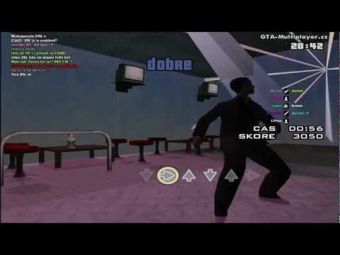 Grand Theft Auto San Andreas Multiplayer Tanec na Serveru WTLS
