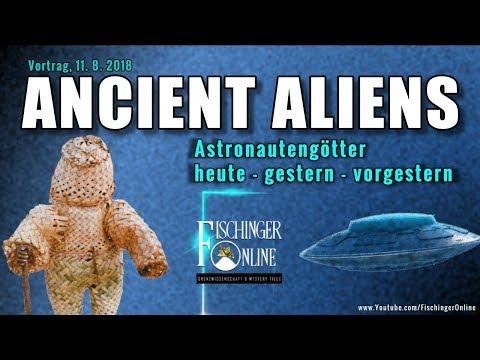 Ancient Aliens & Astronautengötter: heute, gestern, vorgestern (Vortrag Prä-Astronautik / UFOs 2018)
