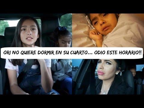 ORI NO QUIERE DORMIR EN SU CAMA... NO ENTIENDO EL POR QUE DE ESTE HORARIO?!! - Vlog diario