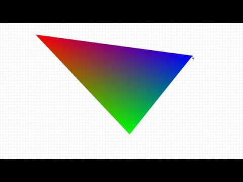 Shading and rendering a triangle [asm, x86_64, AVX, AVX2]
