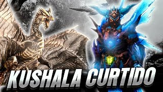 GRAN PALIZA A UN DRAGON ANCIANO CURTIDO (KUSHALA) | MONSTER HUNTER WORLD