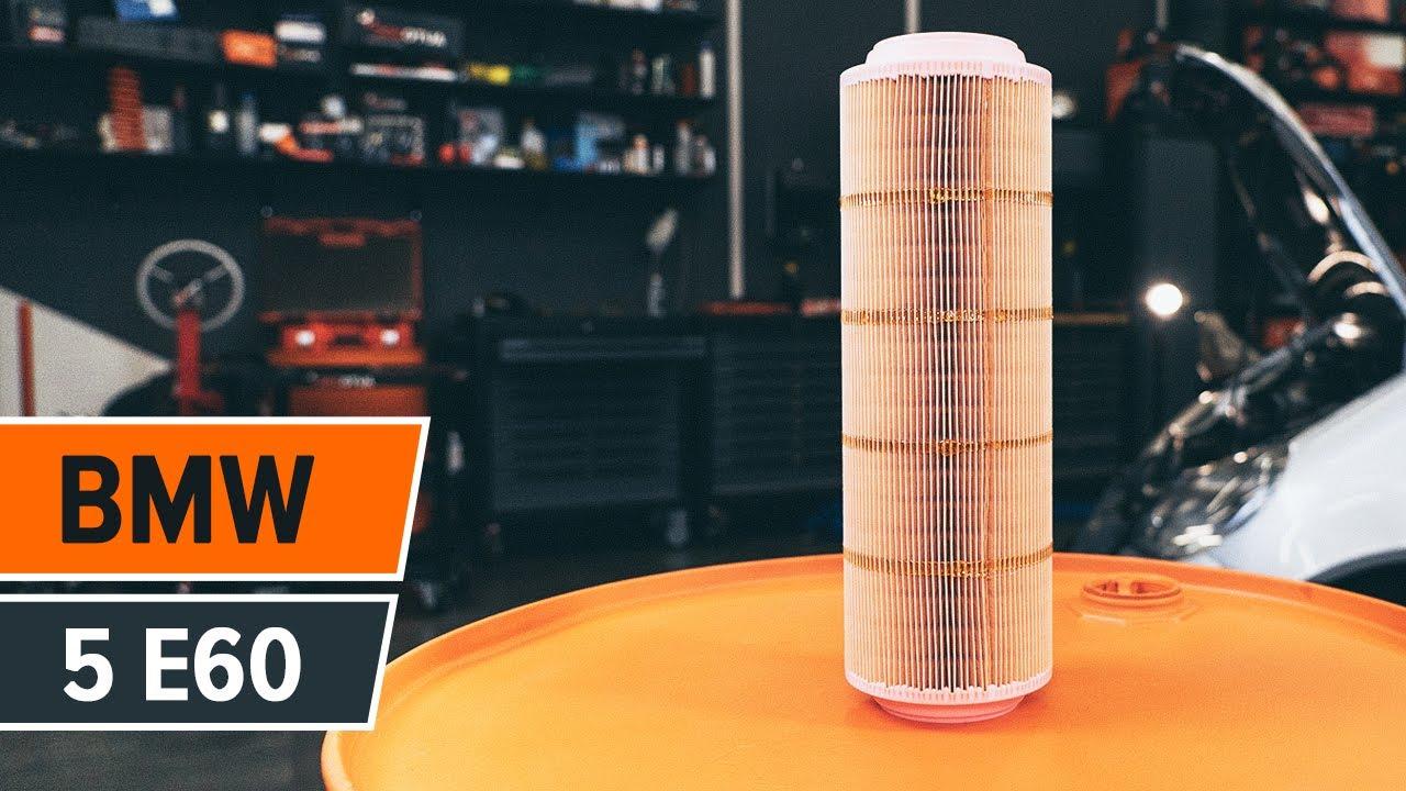 Wie Bmw 5 E60 Luftfilter Wechseln Tutorial Autodoc Youtube