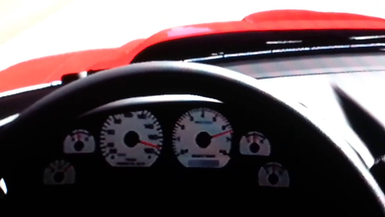 Ford Mustang Cobra 1998 acceleration and top speed - YouTube