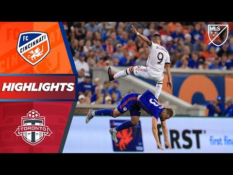 FC Cincinnati vs. Toronto FC | HIGHLIGHTS - September 7, 2019
