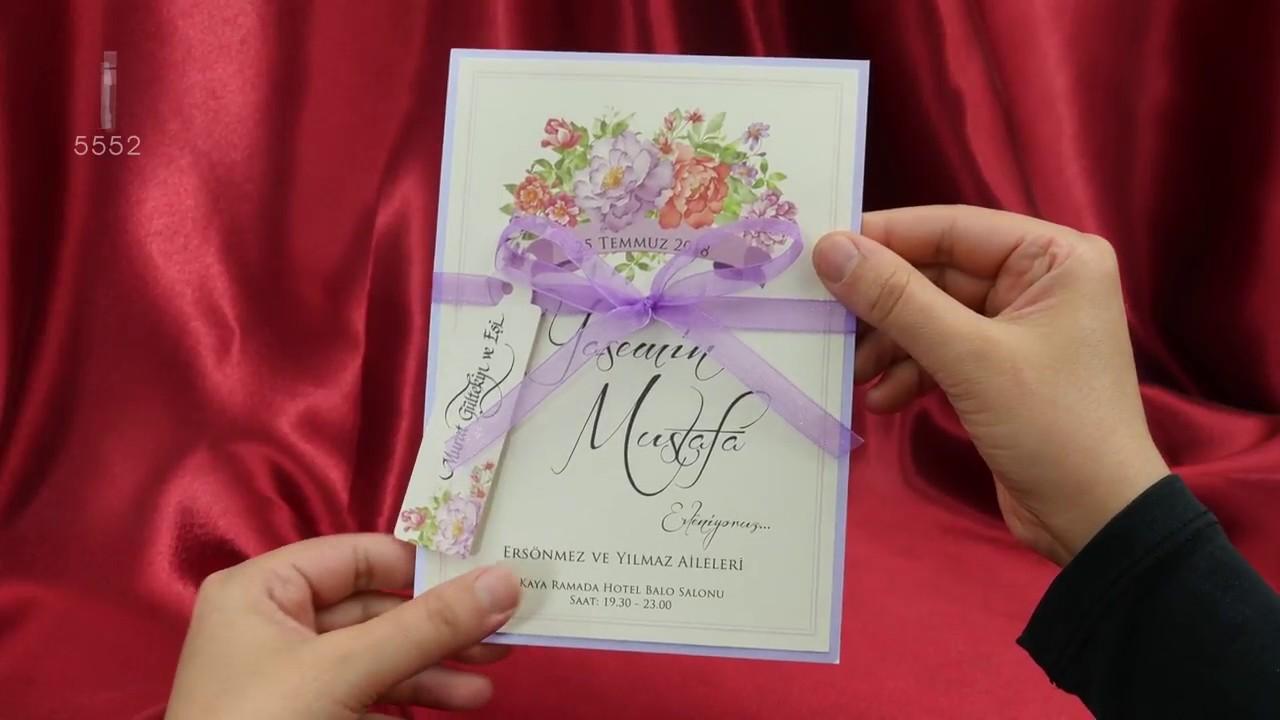 Sedef Cards © 5552 Concept Collection Düğün Davetiyeleri Wedding ...