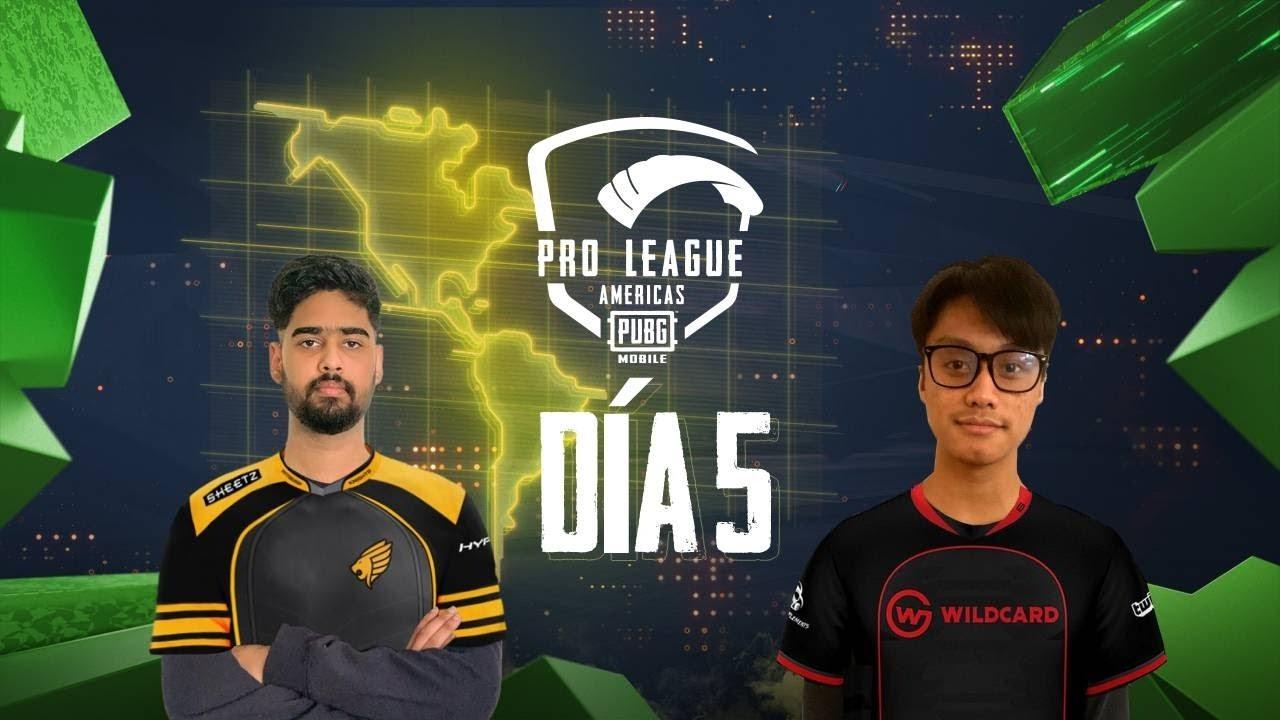 [ES] PMPL Americas Temporada 2 Día 5 | PUBG MOBILE Pro League 2020