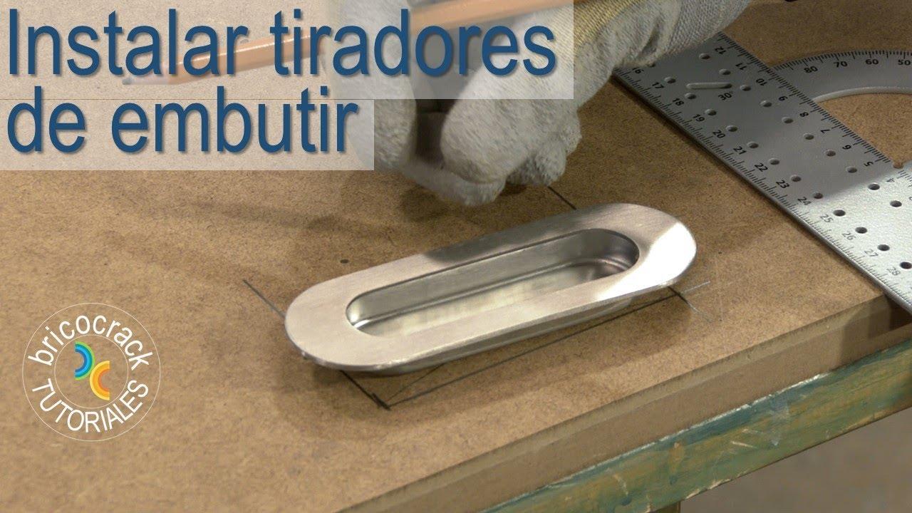Instalar tiradores en puertas correderas y armarios - Instalar puerta corredera ...