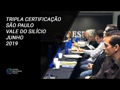 TRIPLA CERTIFICAÇÃO GMG EM MENTORING REALIZADA EM SÃO PAULO E NO VALE DO SILÍCIO
