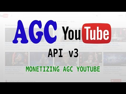 Monetizing AGC YouTube Apa Saja Sih?