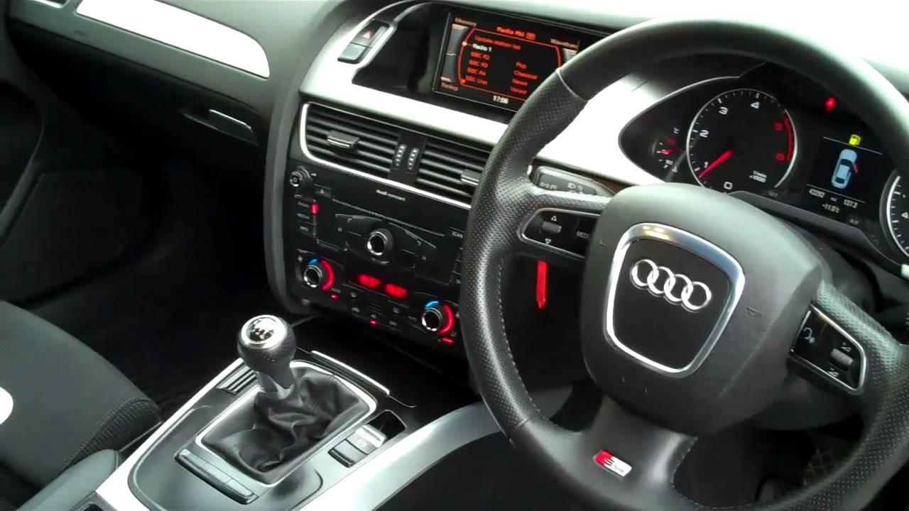 2009 Audi A4 2.0TDi 143 S-Line 4dr £19,995 - YouTube