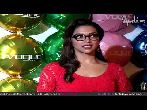 Deepika Padukone Brand Ambassdor Of Vogue Eyewear