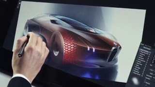 The BMW VISION NEXT 100 - Making of - Design Sketches | AutoMotoTV