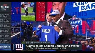 Giants Set Up For Success? | NFL Live | Apr 30, 2018