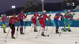 JO 2018 : Ski de fond - Demi-finale hommes : Les Bleus en finale