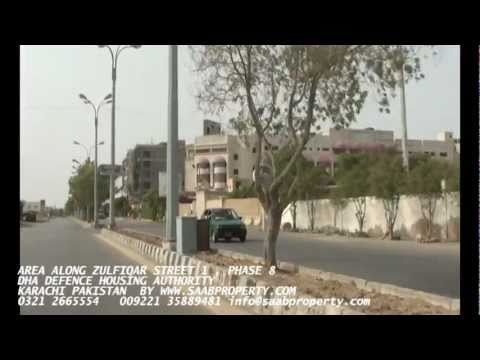 AREA  NEAR ZULFIQAR STREET NO 1 DHA defence housing authority  PHASE 8 KARACHI PAKISTAN