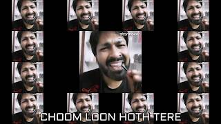 choom loon hoth tere | Kumar Sanu | Shriman Aashiq | by Ujjwal