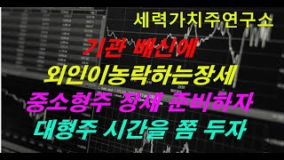 02.21.기관 배신에 외인이농락하는장세,중소형주 장세…