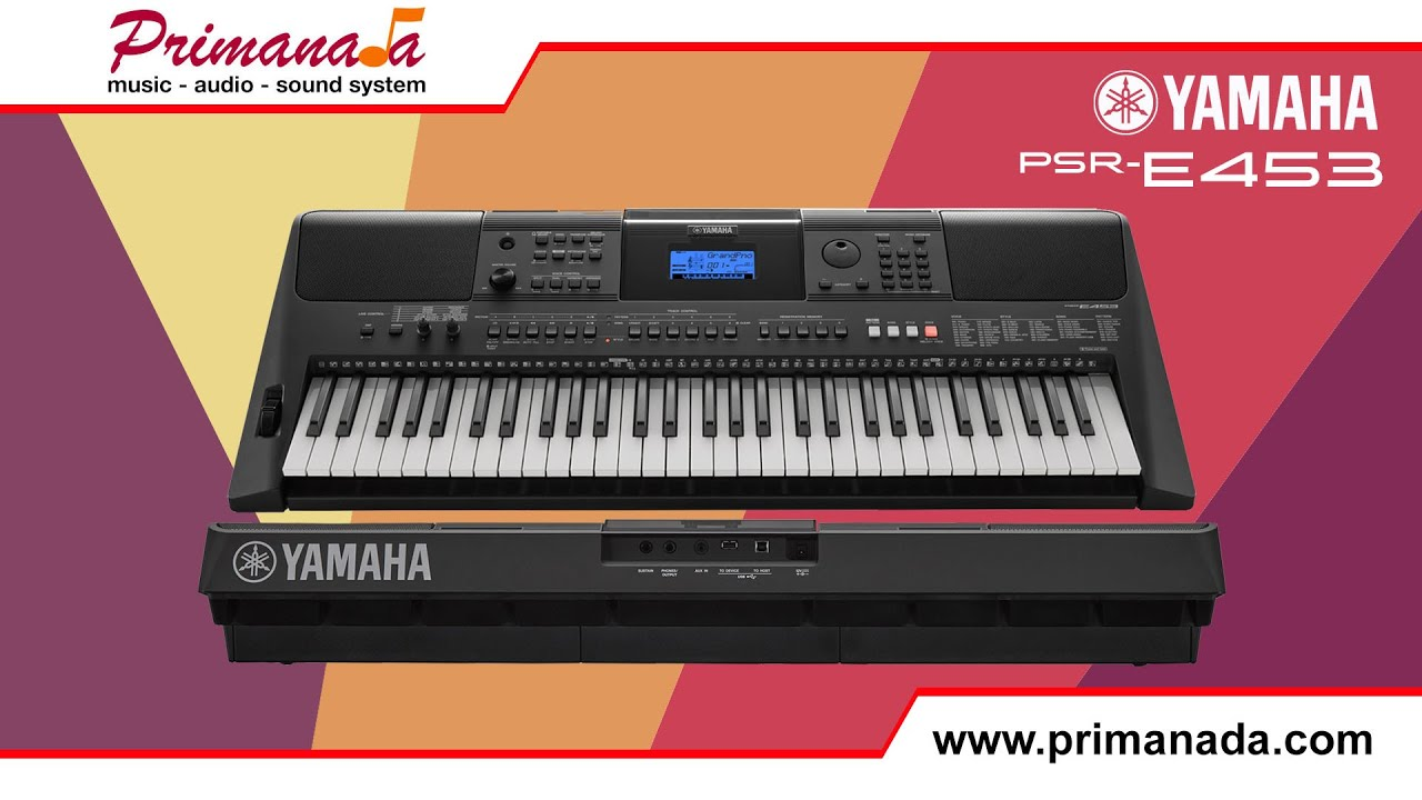 yamaha psr e453 keyboard overview youtube. Black Bedroom Furniture Sets. Home Design Ideas