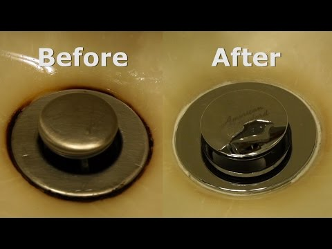 removing-a-rust-stain-from-a-sink