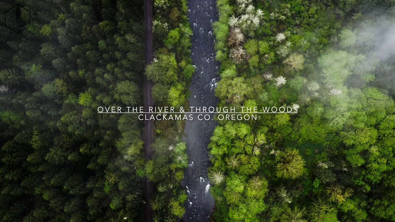 Over The River & Through The Woods (Drone Footage)
