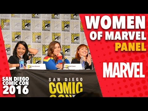 Women of Marvel Panel at San Diego Comic-Con 2016
