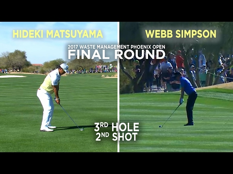 By the Numbers: Hideki Matsuyama and Webb Simpson dialed in on No. 3 at Waste Management