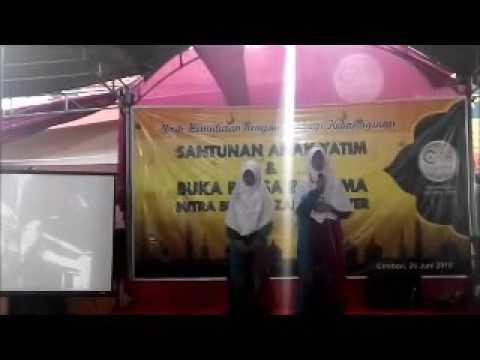Penampilan Puisi 3 Bahasa Griya Tahfdiz Zakat Center 2