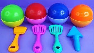 Impara i Colori con Play Doh Giocattoli Super pigiamini, filastrocche canzoni per bambini
