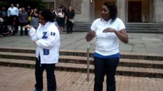 Zeta Phi Beta Kappa Nu Chapter SPR 2010 Probate Part 3
