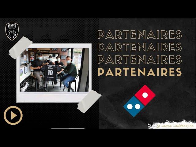 DOMINO'S PIZZA FAIT PARTIE DU MAILLOT !